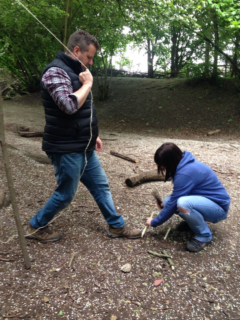 Forest School St Neots, Cambrigeshire - run by Piglets Preschool in Great Staughton